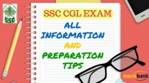 SSC CGL All information and Preparation Tips