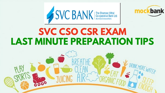 SVC CSO CSR Exam Last Minute Preparation Tips
