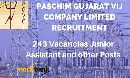 PGVCL Recruitment 243 Vacancies - Vidyut Sahayak (JA) and Other Posts.pgvcl.com