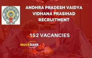 APVVP Recruitment 152 Vacancies - Civil Asst Surgeon Specialist Posts.apvvp.nic.in