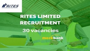 RITES Limited Recruitment 30 vacancies - Graduate Engineer Trainee Posts.rites.com