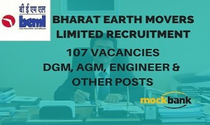 BEML Recruitment 107 Vacancies - DGM, AGM, Engineer & Other Posts.bemlindia.com