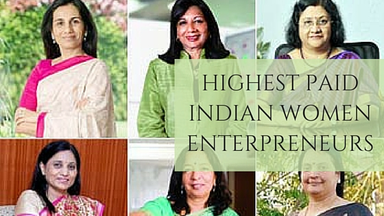 Highest Paid Indian Women Enterprenuers