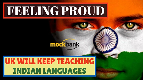 UK will Keep Teaching Indian Languages