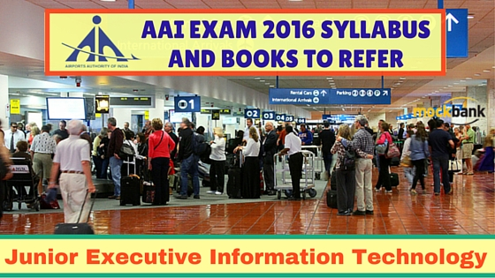 AAI Junior Executive Information Technology Syllabus and Books to Refer