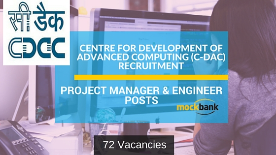CDAC Noida Recruitment 72 Vacancies - Project Manager & Engineer Posts.cdac.in