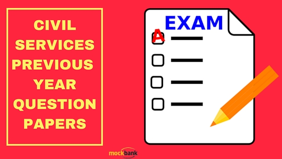 Civil Services Previous Year Question Papers