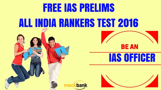 IAS Prelims All India Rankers Test