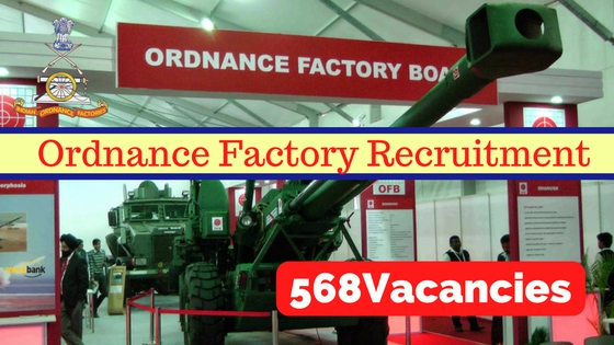 Ordnance Factory Recruitment