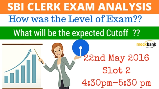SBI Clerk Exam Analysis 22 May Slot 4