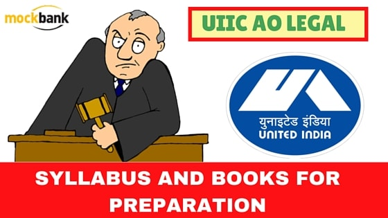 UIIC AO Legal Syllabus and Books for preparation-min