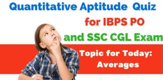 Average Questions for IBPS and SSC Exams