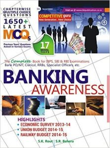 Banking Awareness Objective with Subjective