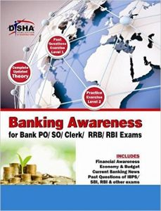 Banking Awareness by Disha Publications