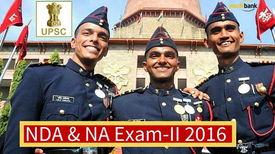 NDA Recruitment 2016 , NDA & NA Exam-II 2016