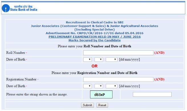 SBI Clerk Prelims Marks Out, SBI Clerk Result