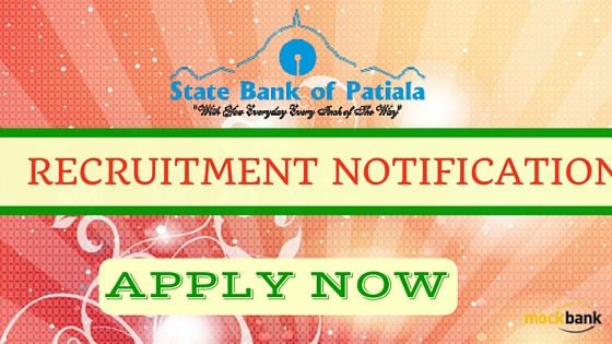 State Bank of Patiala Recruitment 2016