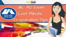 UIIC AO Exam Last Minue Preparation Tips