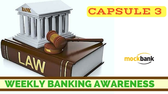 Weekly Banking Awareness Capsule 3