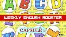 Weekly English Booster Capsule 1