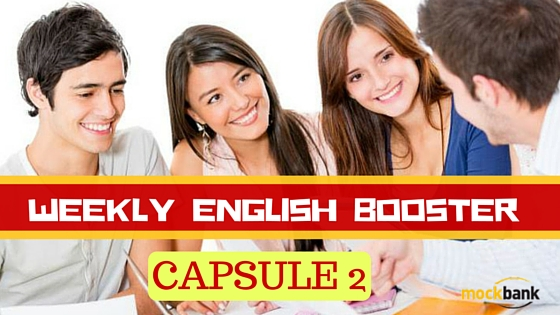 Weekly English Booster Capsule 2