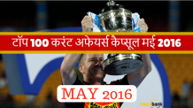 Hindi Current affairs May 2016