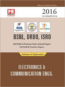 BSNL DRDO ISRO Electronics Engineering Previous Solved Papers 2016