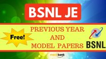 BSNL JE Previous Year Model Papers