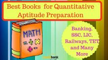 Best Books for Quantitative Aptitude Preparation: