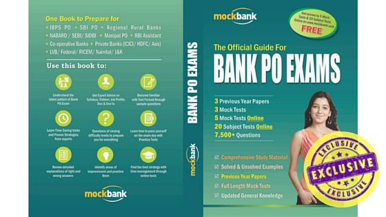 Comprehensive Book for BANK PO Exams
