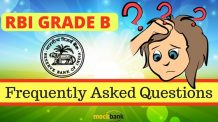 FAQs Related to RBI Grade B Exam 2016