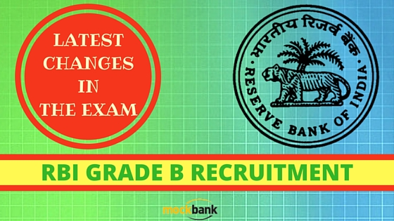 RBI Grade B Recruitment 2016