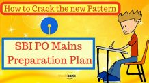 SBI PO Mains Preparation Plan