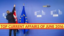Top Current Affairs June 2016