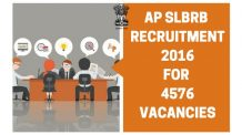 AP SLBRB RECRUITMENT