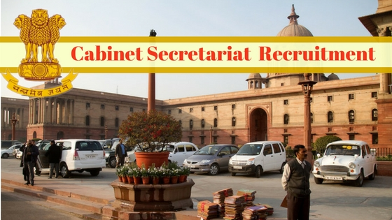 Cabinet Secretariat Recruitment 2016.