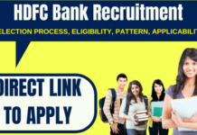 HDFC Bank Recruitment