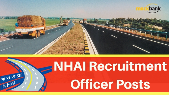 NHAI Recruitment 2016 - Officer Posts