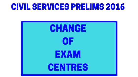 Civil Services Prelims Notice