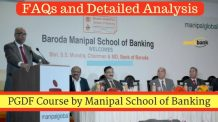 PGDF Course by Manipal School of Banking