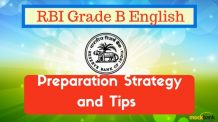 RBI Grade B English Preparation Strategy and Tips