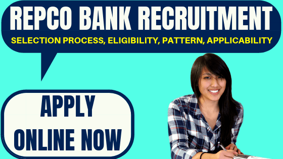 Repco Bank Recruitment