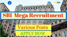SBI SO Recruitment 2016 for Specialist Officer posts