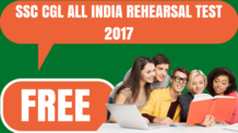 SSC CGL All India Rehearsal Test