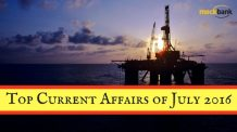 Top Current Affairs July 2016