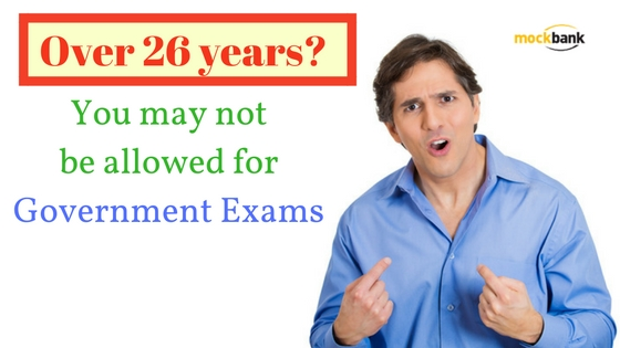 You may not be allowed for Government Exams