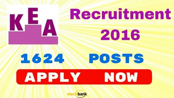 KEA Recruitment 2016