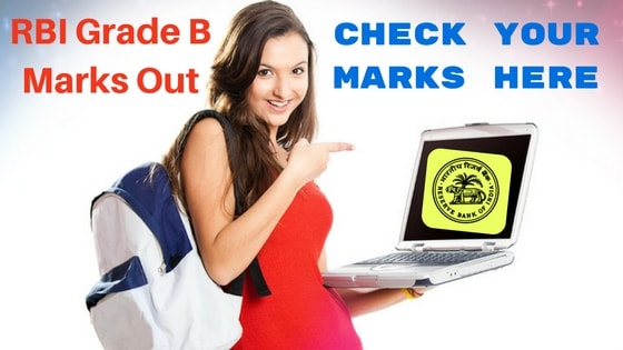 RBI Grade B Officer 2016 Phase 1 Marks and Cutoff Out