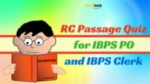 RC Passage Quiz for IBPS PO and Clerk Exam 2016