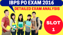 IBPS PO Exam Analysis